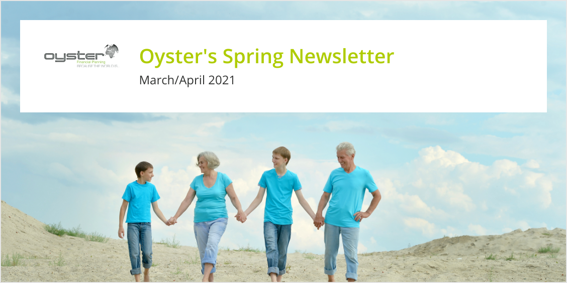 Oyster's Financial Newsletter March/April 2021 image