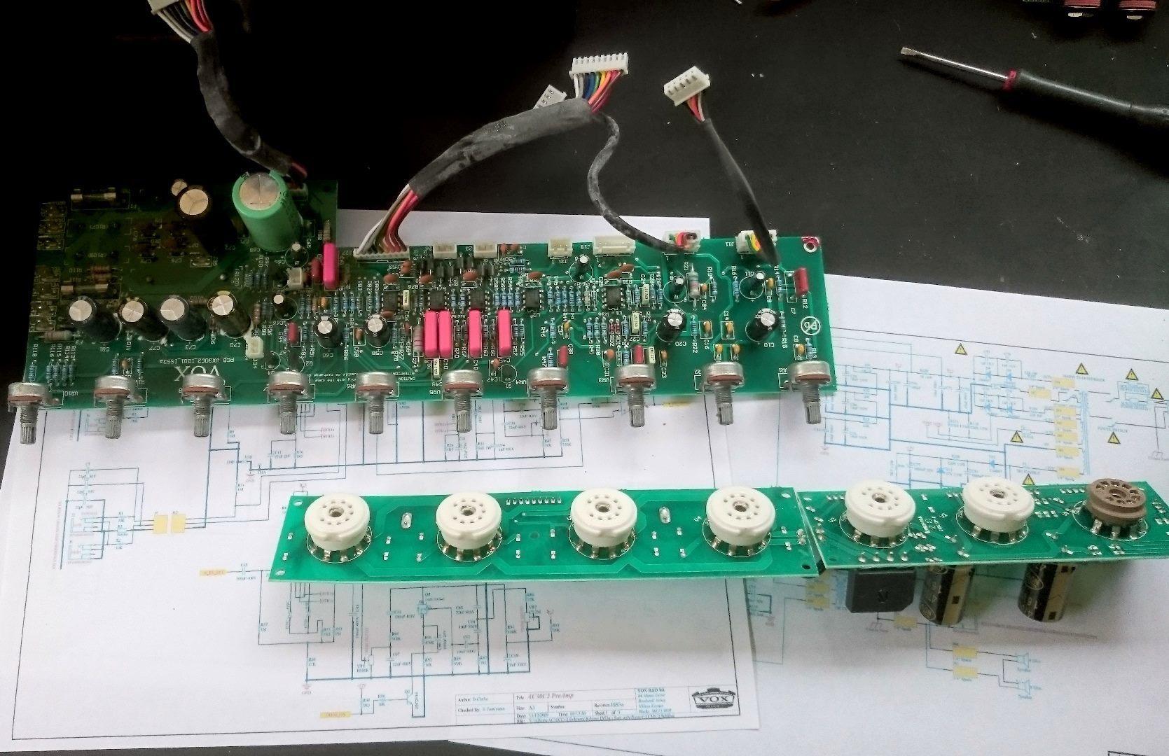 Vox AC30 Amp Repair