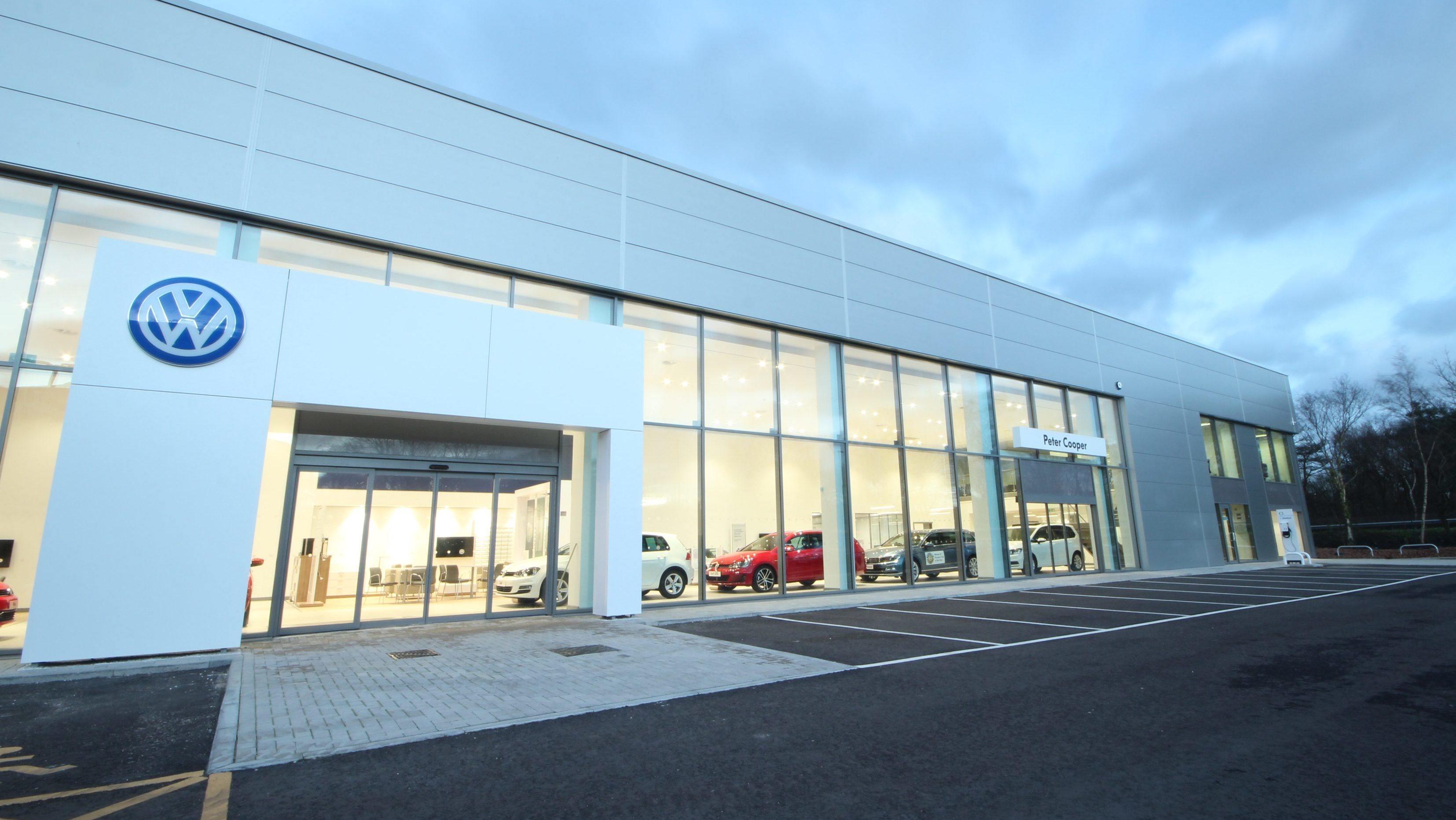 dealerships vw building