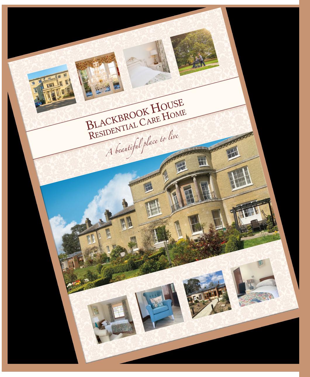 Blackbrook House's brochure