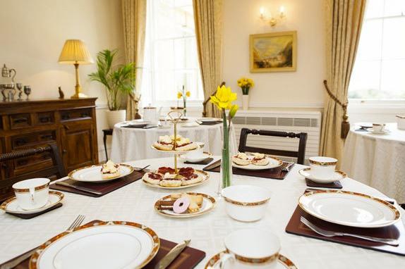 Blackbrook House dining room