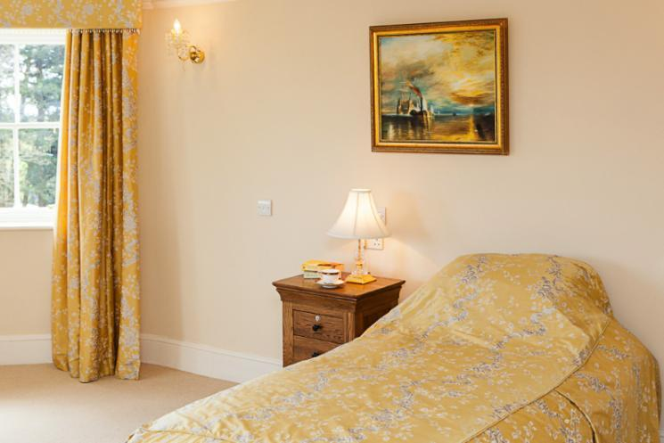 One of Blackbrook's wonderful bedrooms