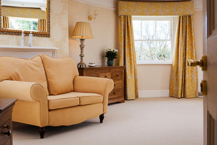 A Blackbrook House luxury bedroom