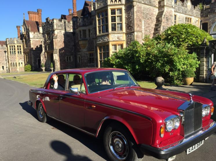 Bkackbrook House's Rolls Royce
