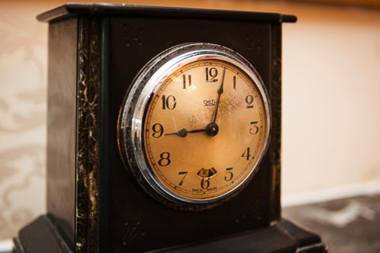A Blackbrook House clock
