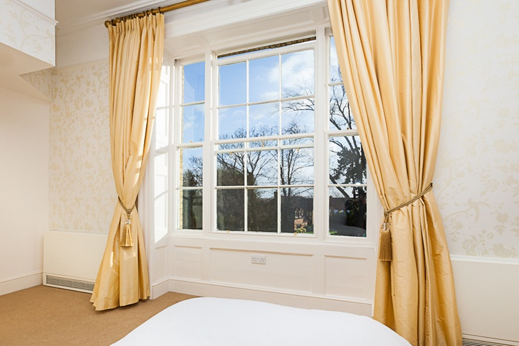 A view from one of Blackbrook House's windows