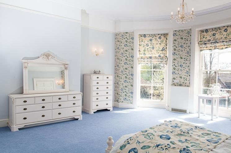 A beautiful Blackbrook House bedroom