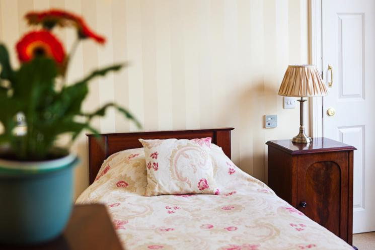 A Blackbrook House bedroom