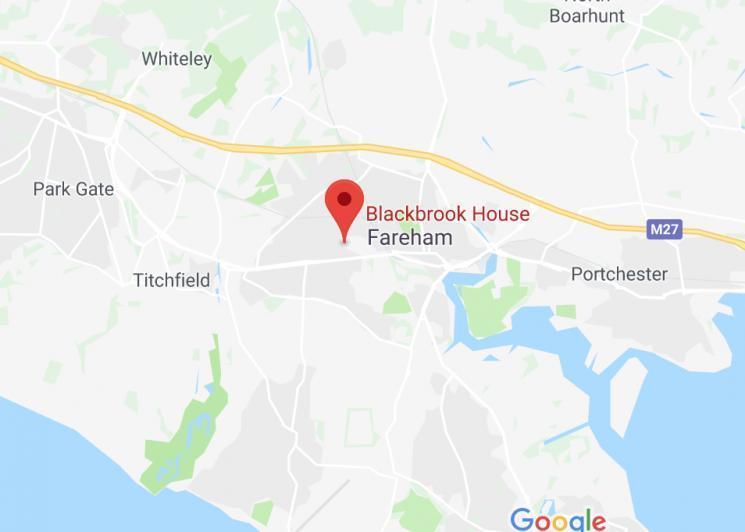 Blackbrook House in Fareham