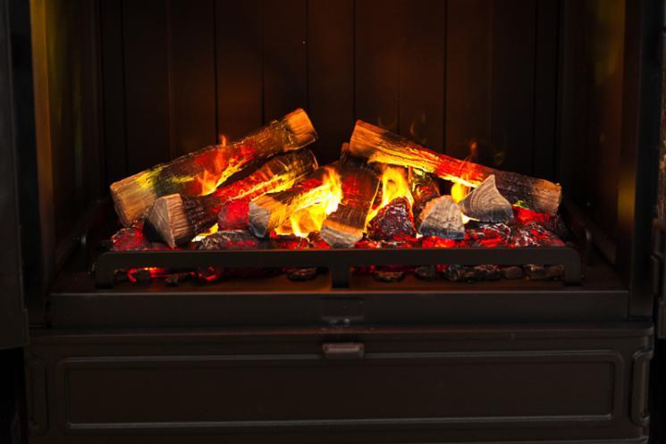 The Blackbrook House fireplace