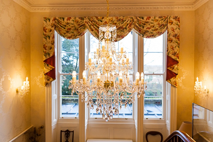 One of of our beautiful chandeliers