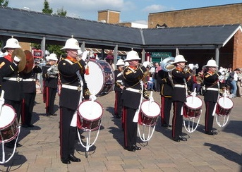 Afternoon With The Royal Marines In Fareham image