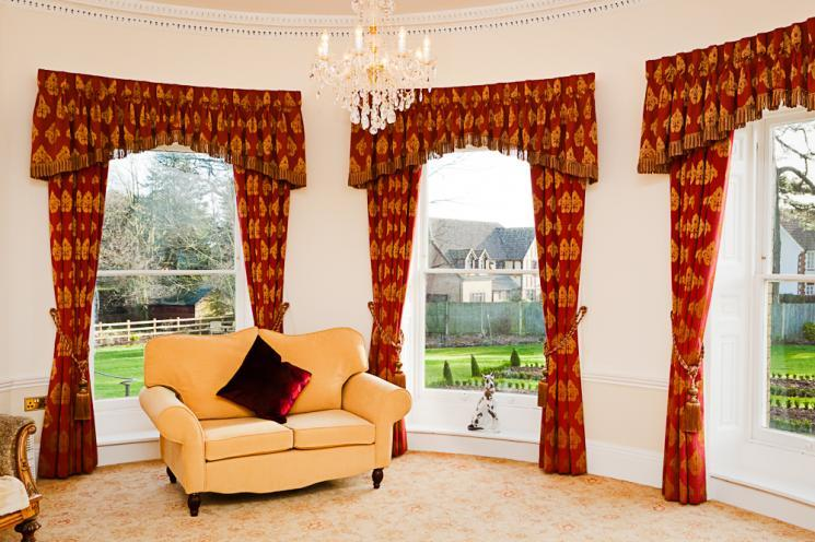 The Oval Room at Blackbrook House