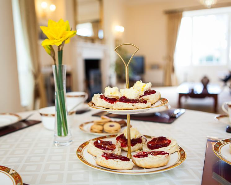 Blackbrook House cream tea