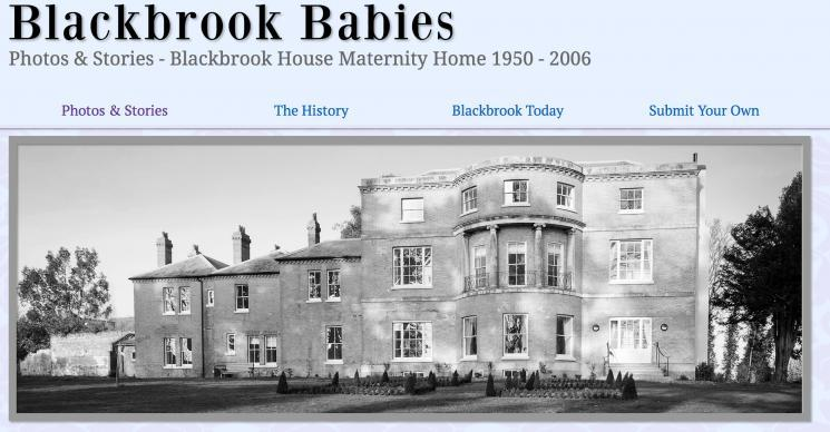 Blackbrook Babies website