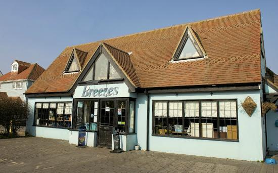 Breezes cafe at Lee on Solent