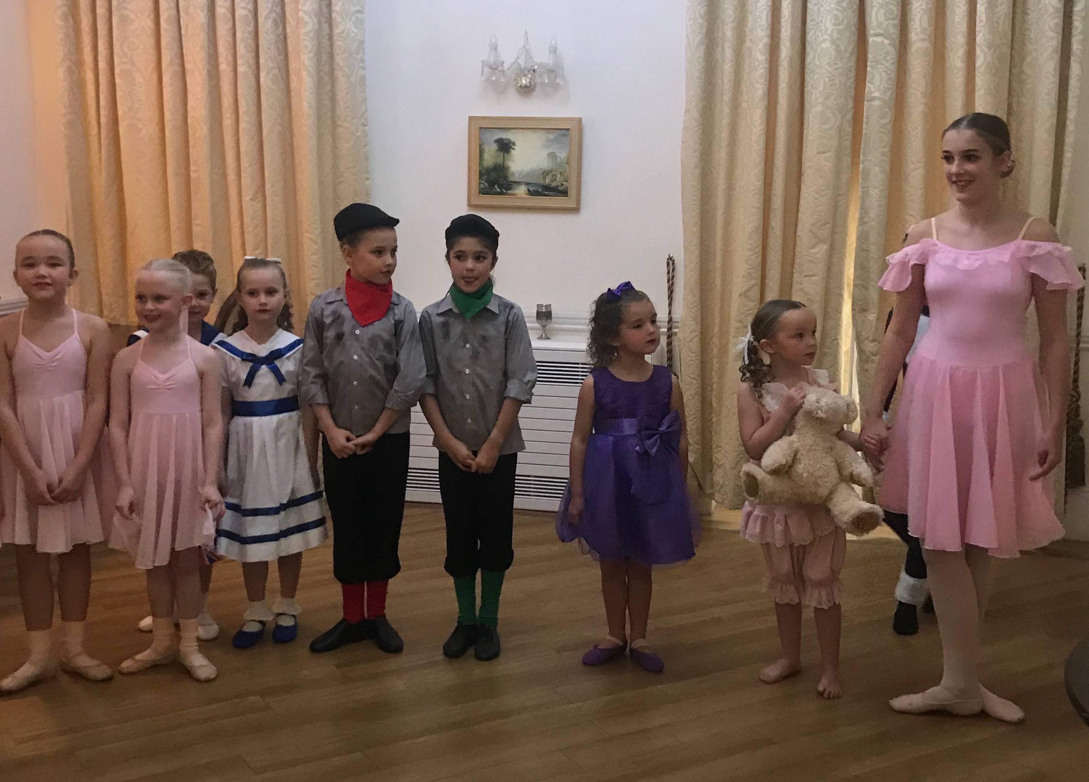 Dancers from Kim Ellen's School of Dance