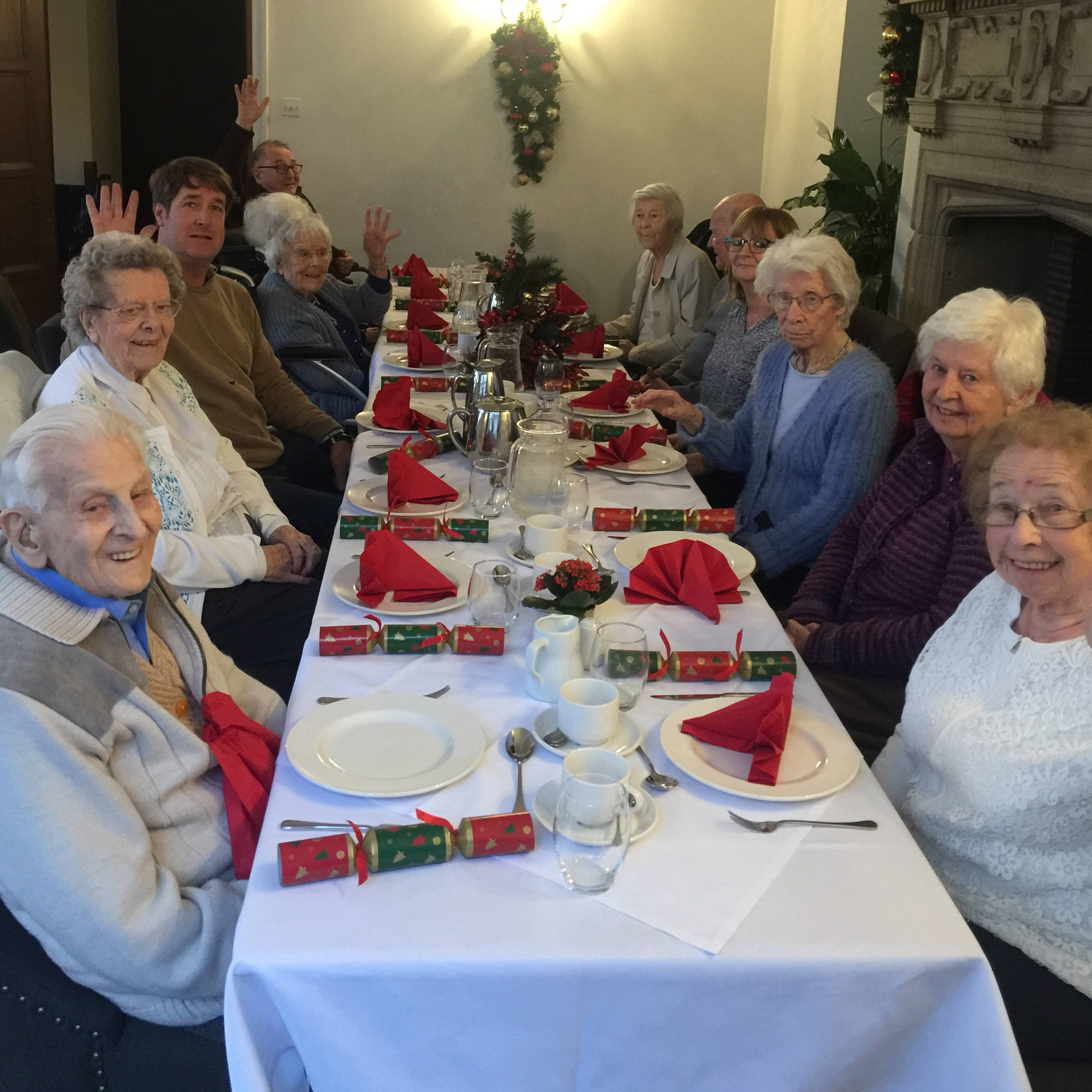Afternoon Tea with the Blackbrook House residents