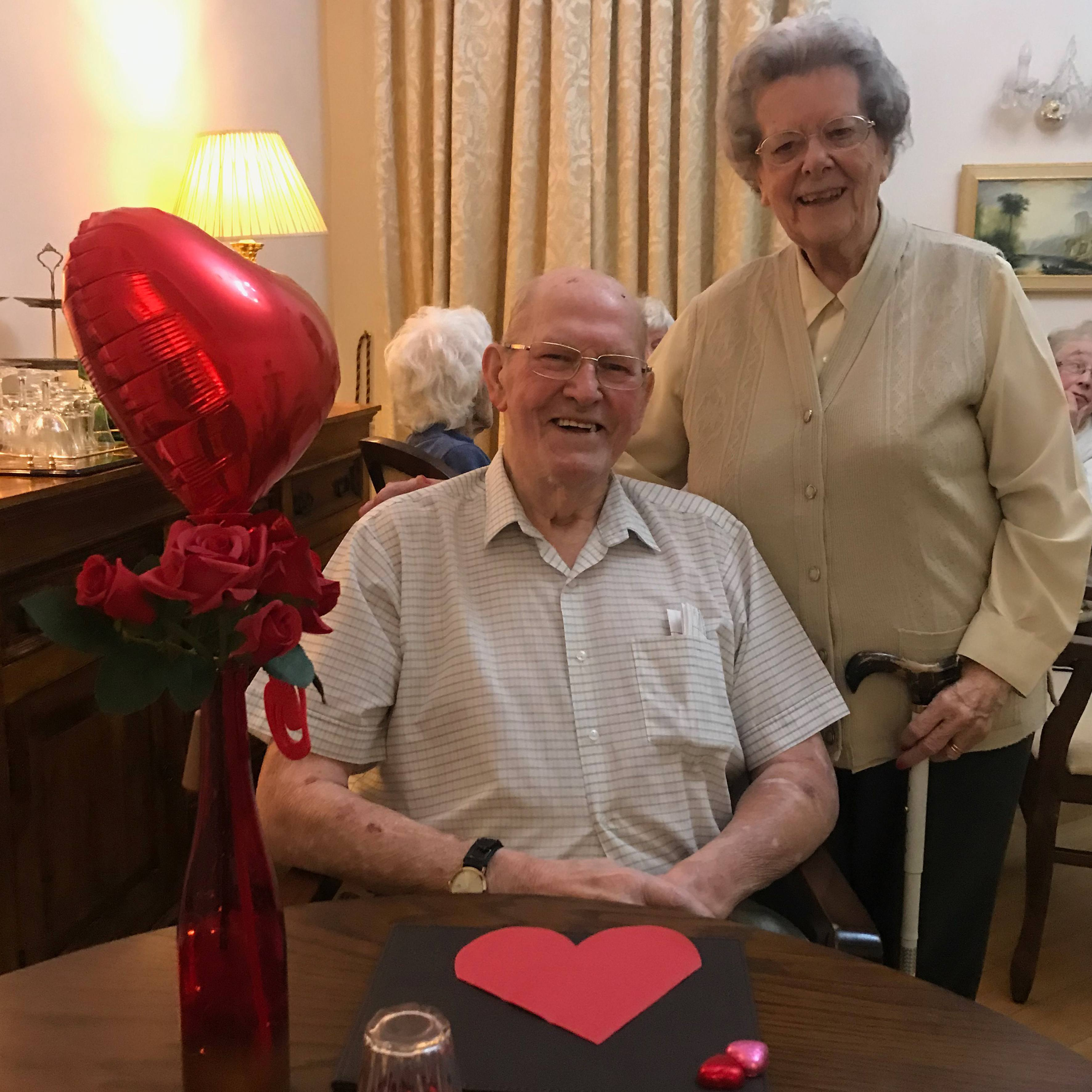 Valentine's Day tea at Blackbrook House