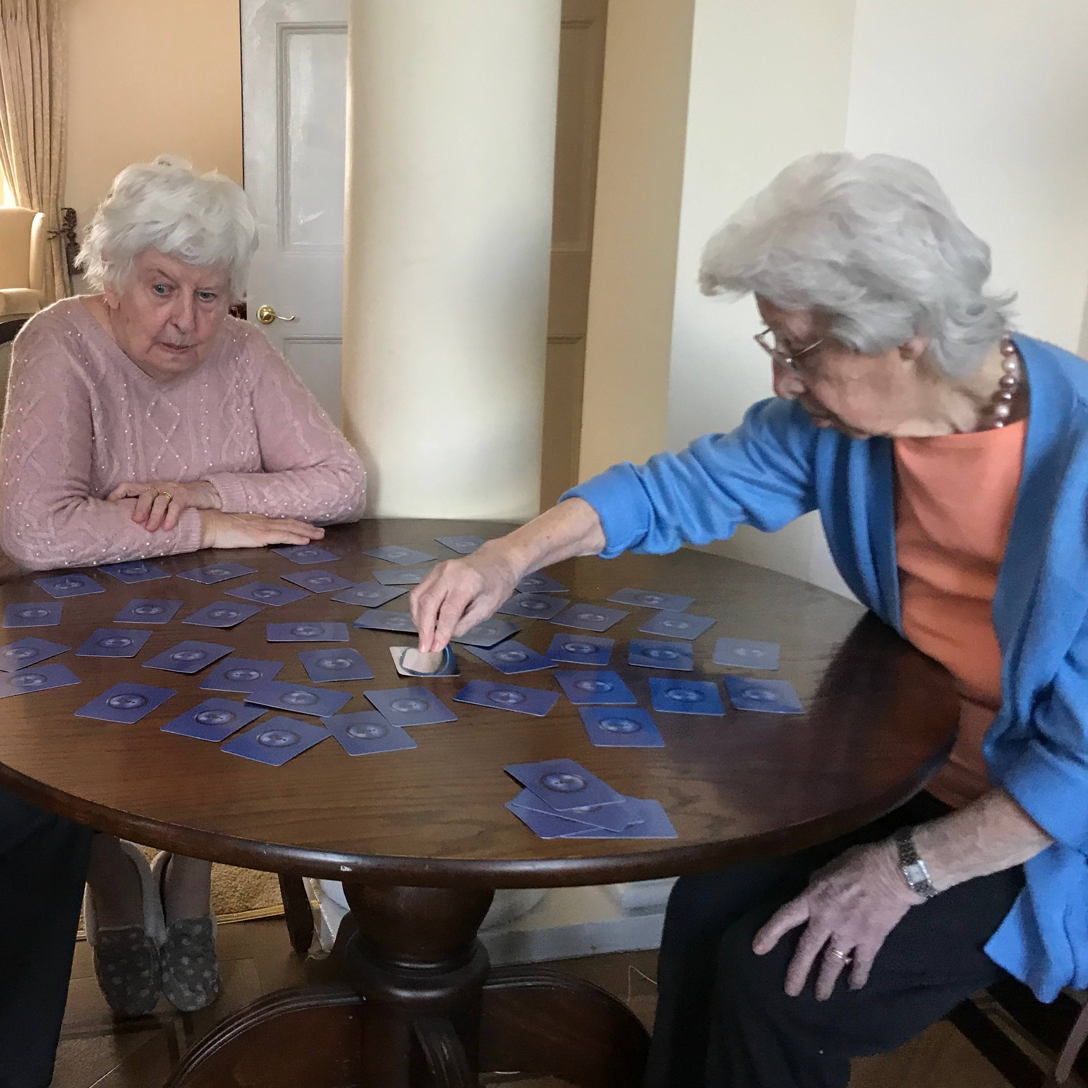 Playing games while the home is closed to outside visitors
