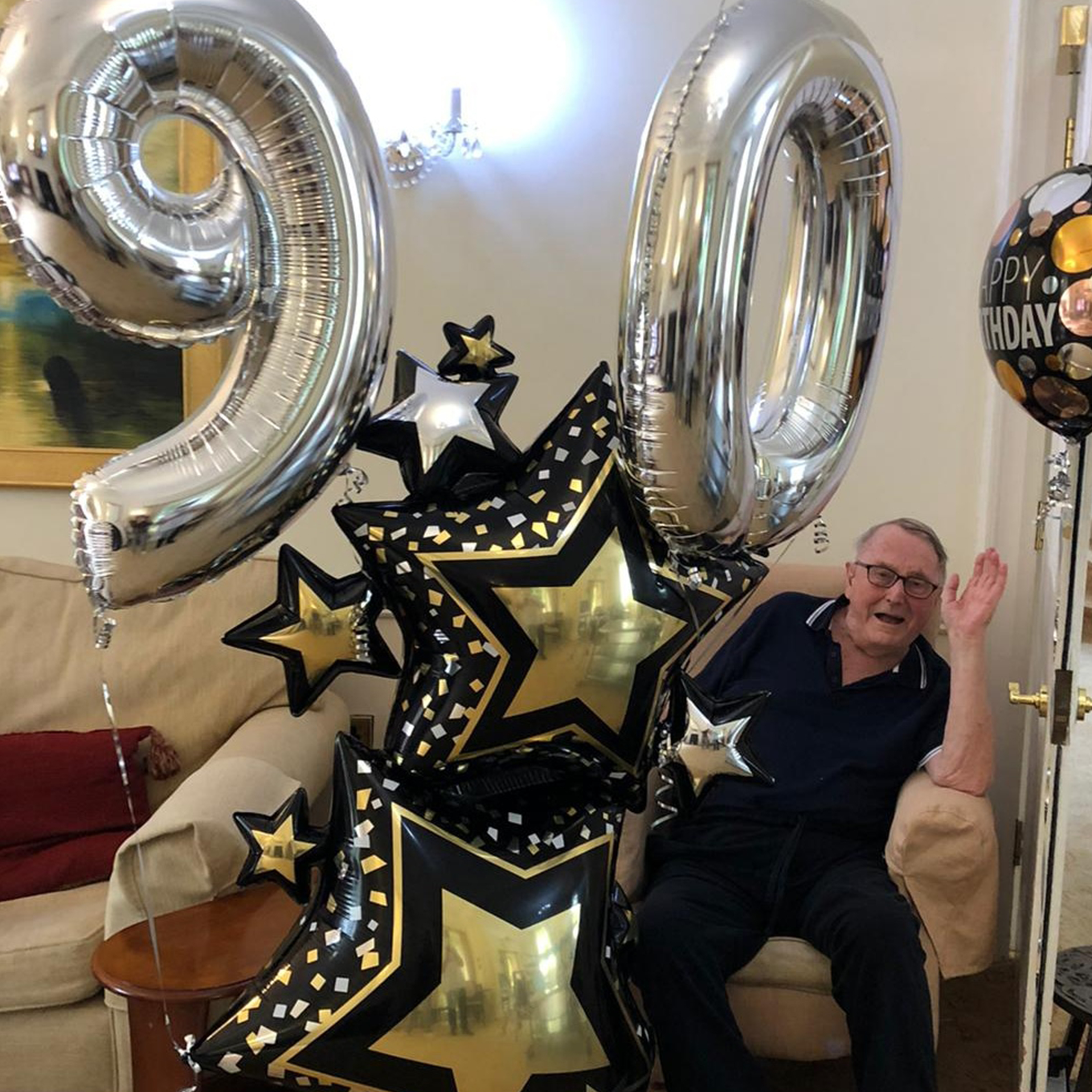 John's 90th birthday