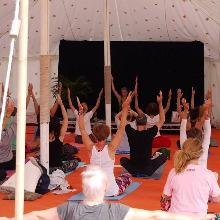 Luci Trendle Yoga Session