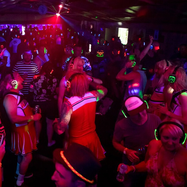 Silent Disco Themes & Times image