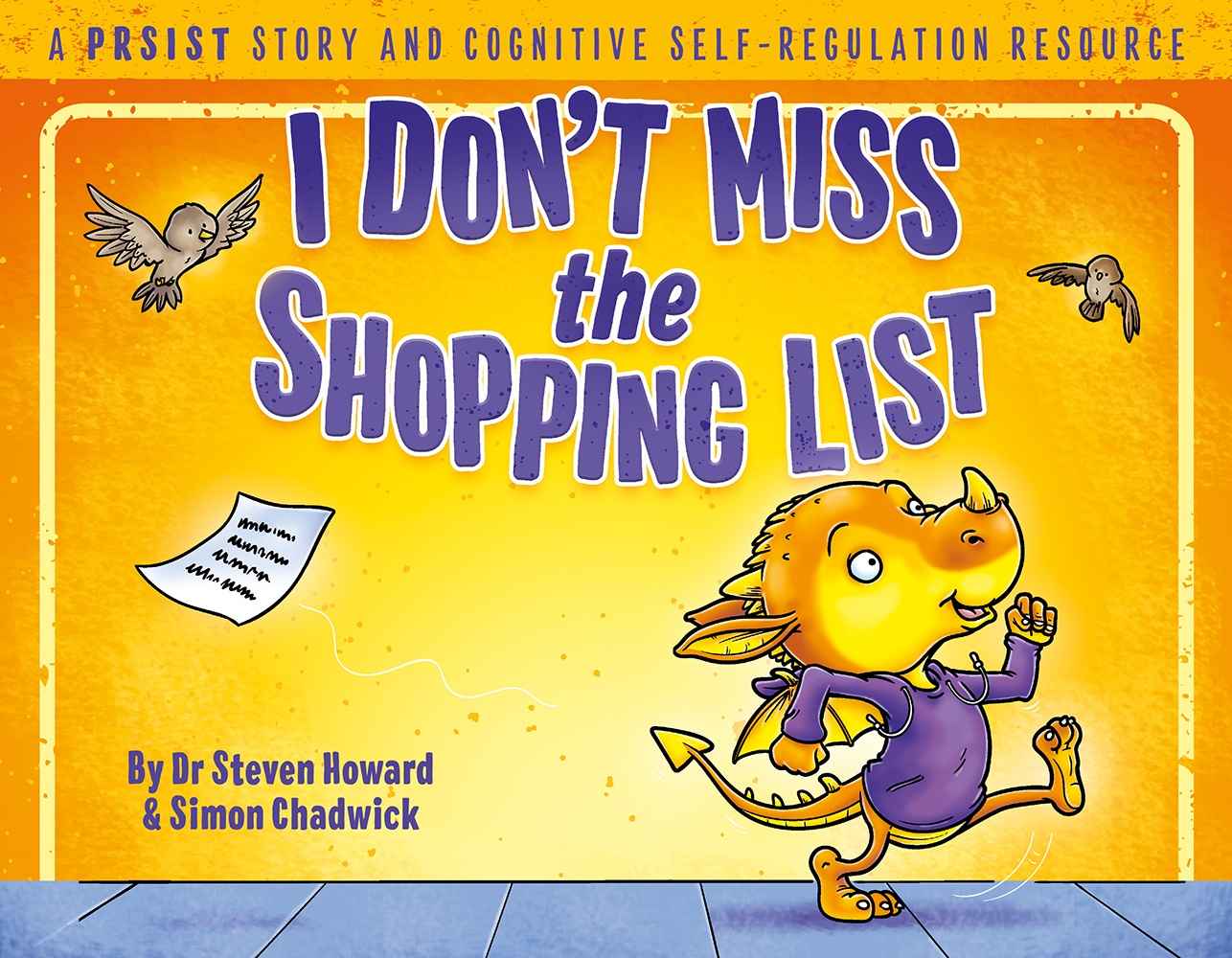 Cover for I Don't Miss The Shopping List from Ceratopia Books, a PRSIST book