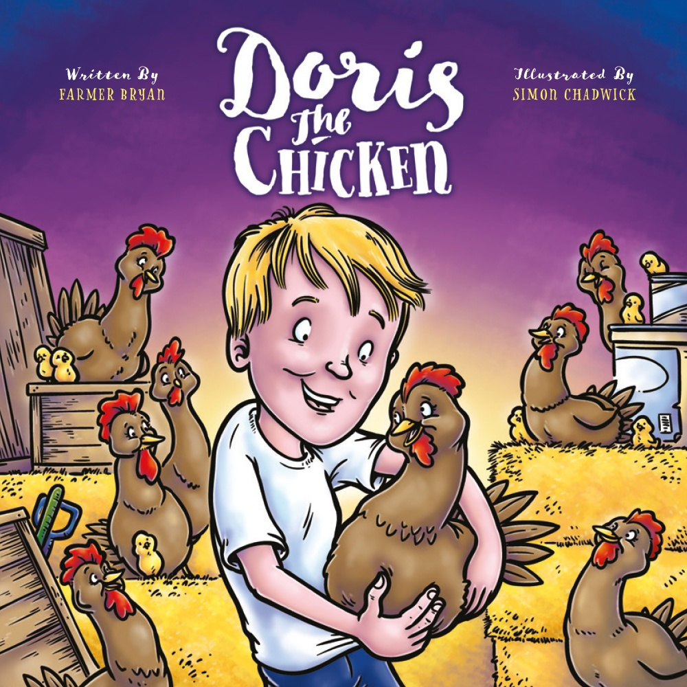 Cover for Doris The Chicken from Ceratopia Books
