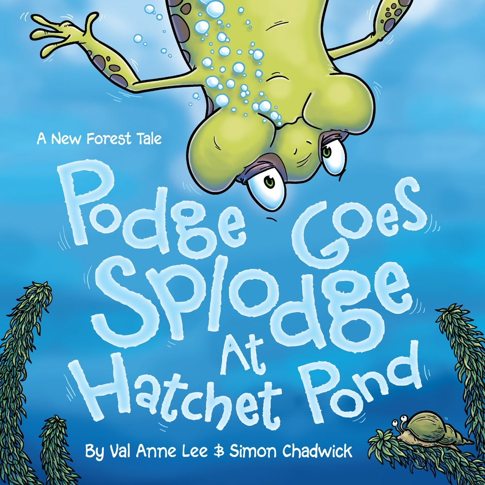 Podge Goes Splodge At Hatchet Pond Cover