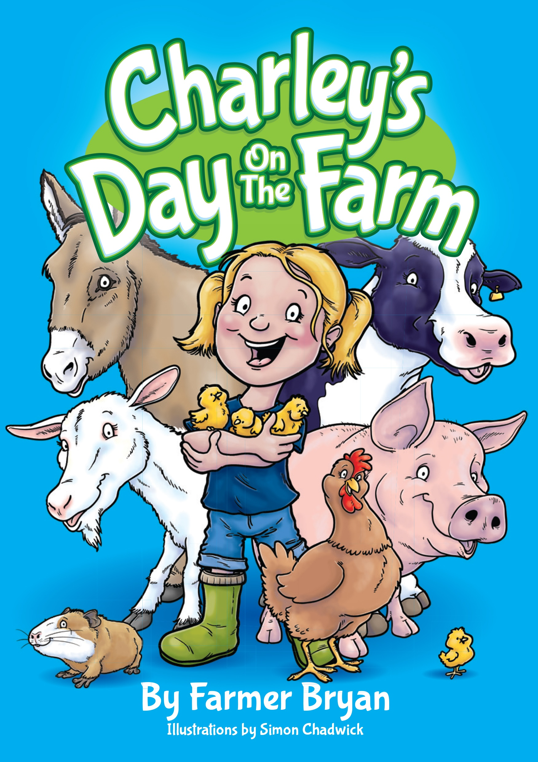 Cover for Charley's Day On The Farm from Ceratopia Books