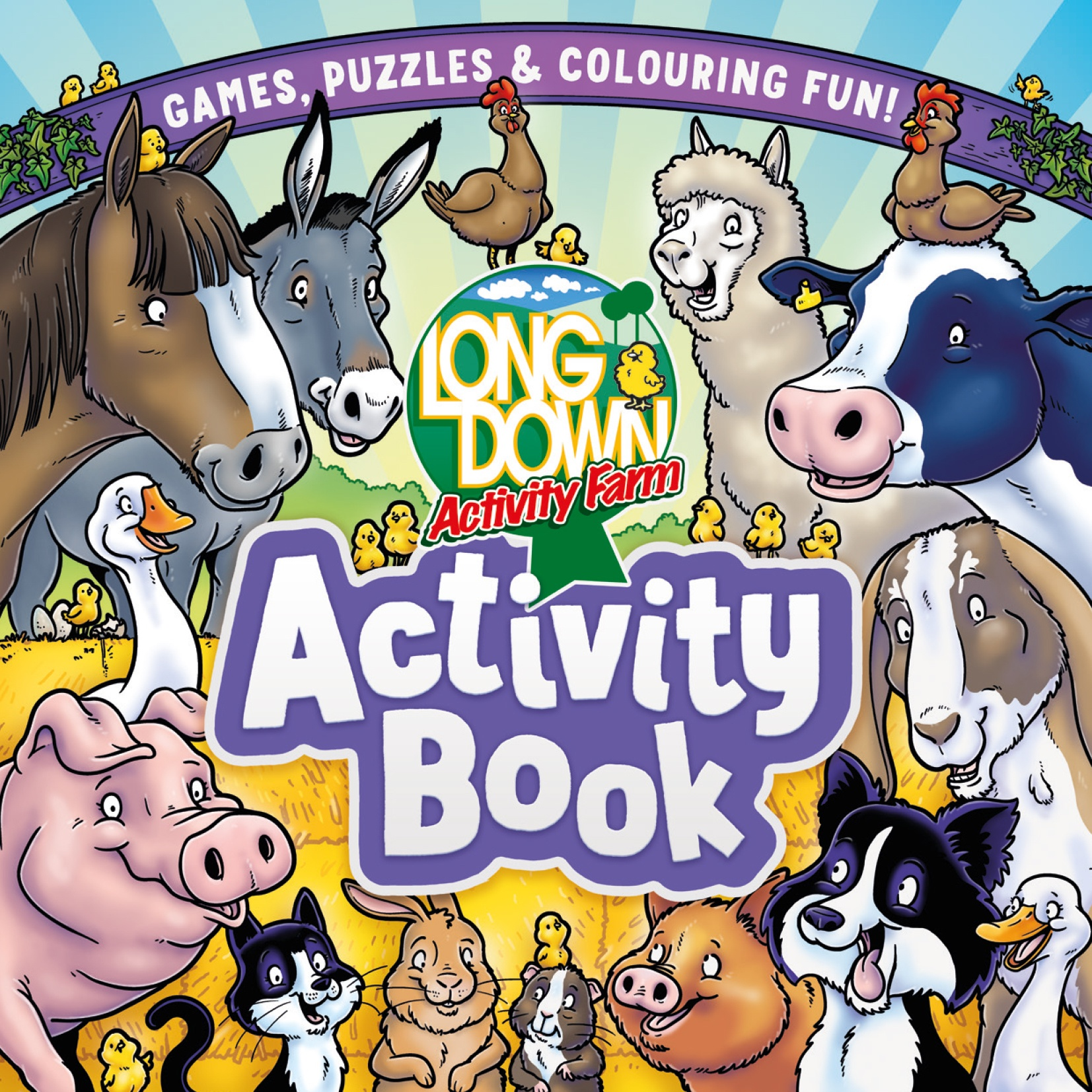 Cover for Longdown Activity Farm Activity Book