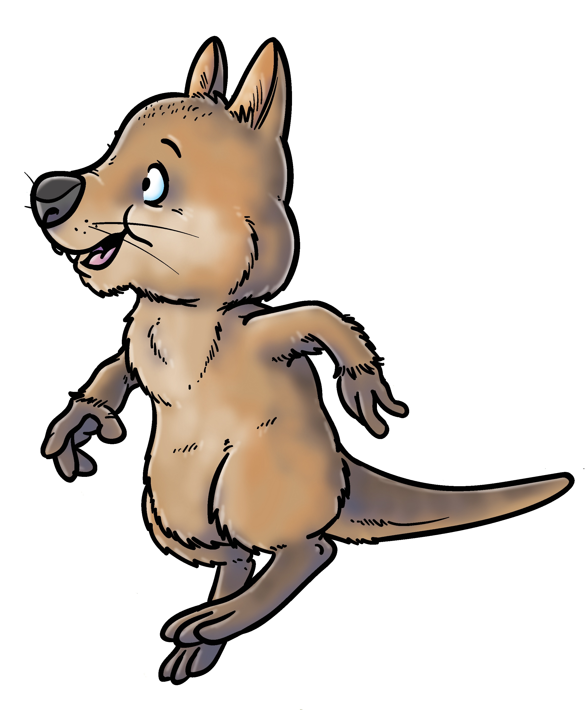 Quincey from Quincey Quokka's Quest from Ceratopia Books, a PRSIST book