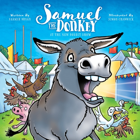 Cover to Samuel The Donkey