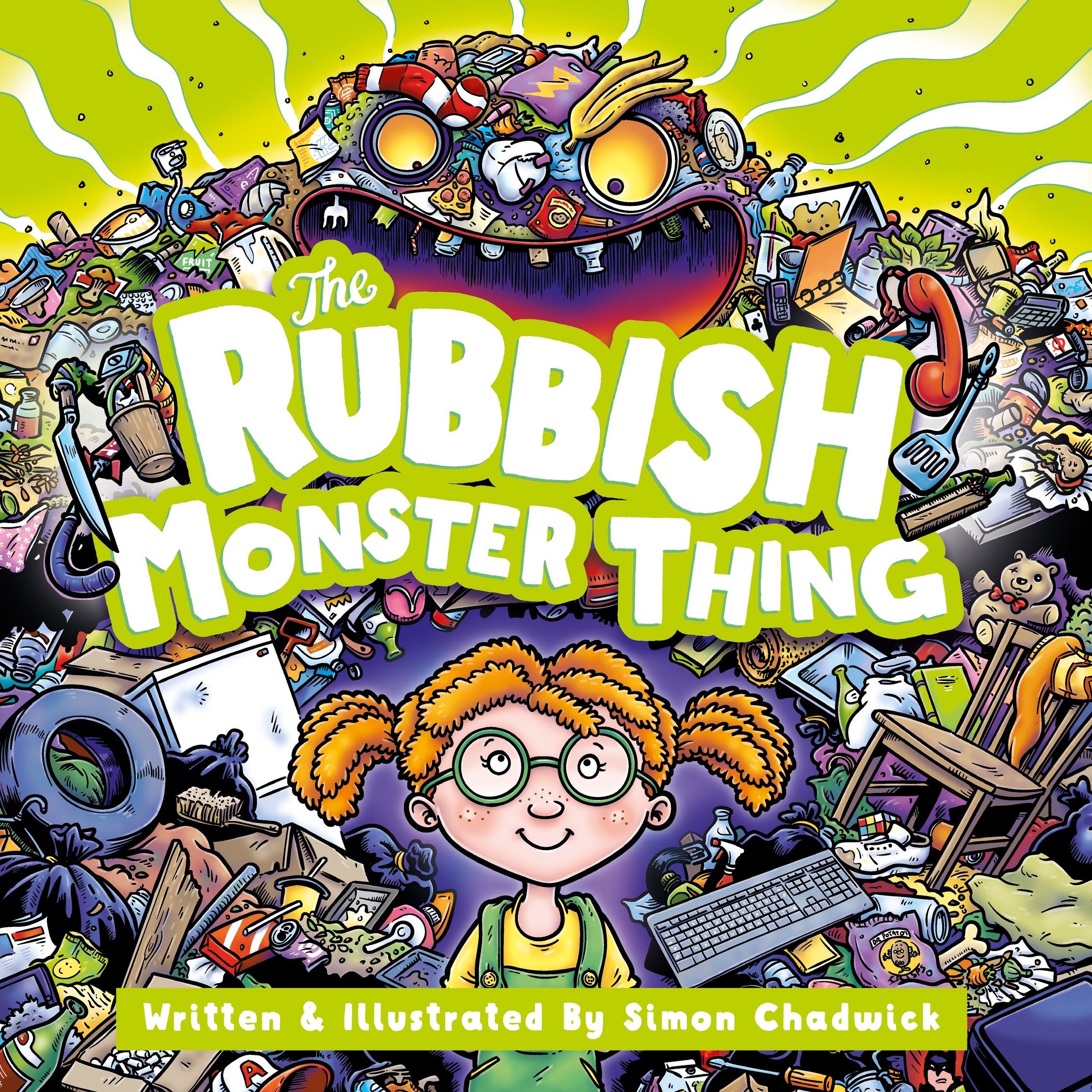 Cover for The Rubbish Monster Thing from Ceratopia Books