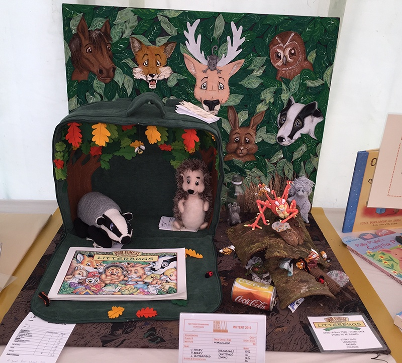 The Marchwood Women's Institute's New Forest Friends work