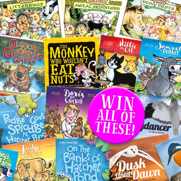 Competition to win all the titles from Ceratopia Books!