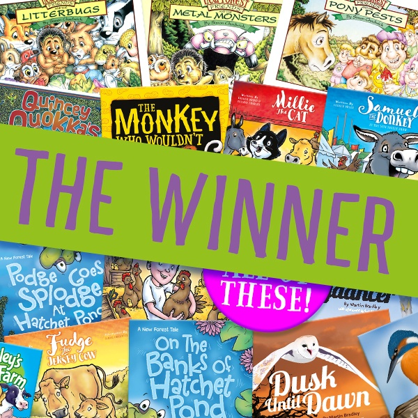 The winner of the Ceratopia Books September 2017 competition
