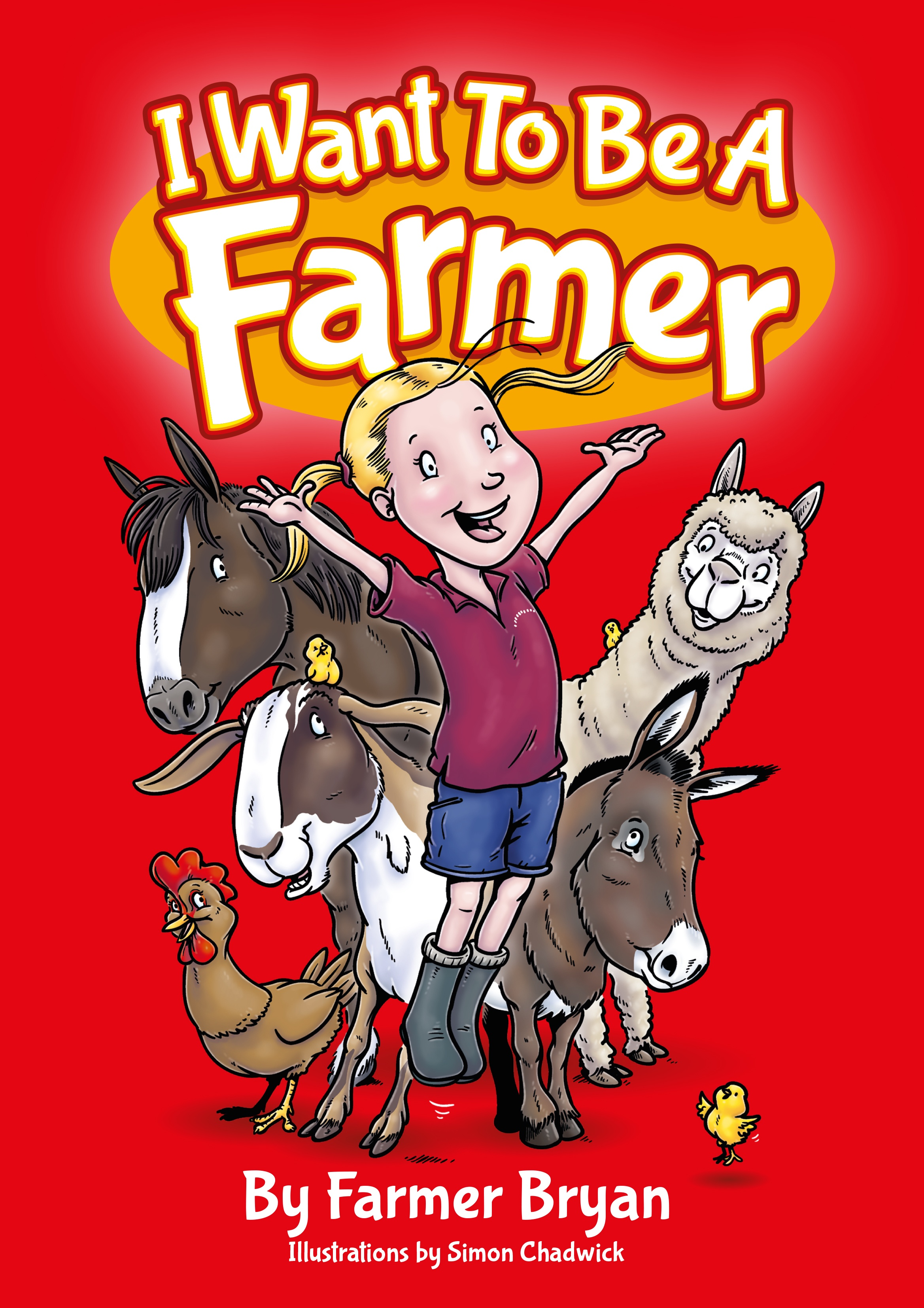 Cover for I Want To Be A Farmer from Ceratopia Books