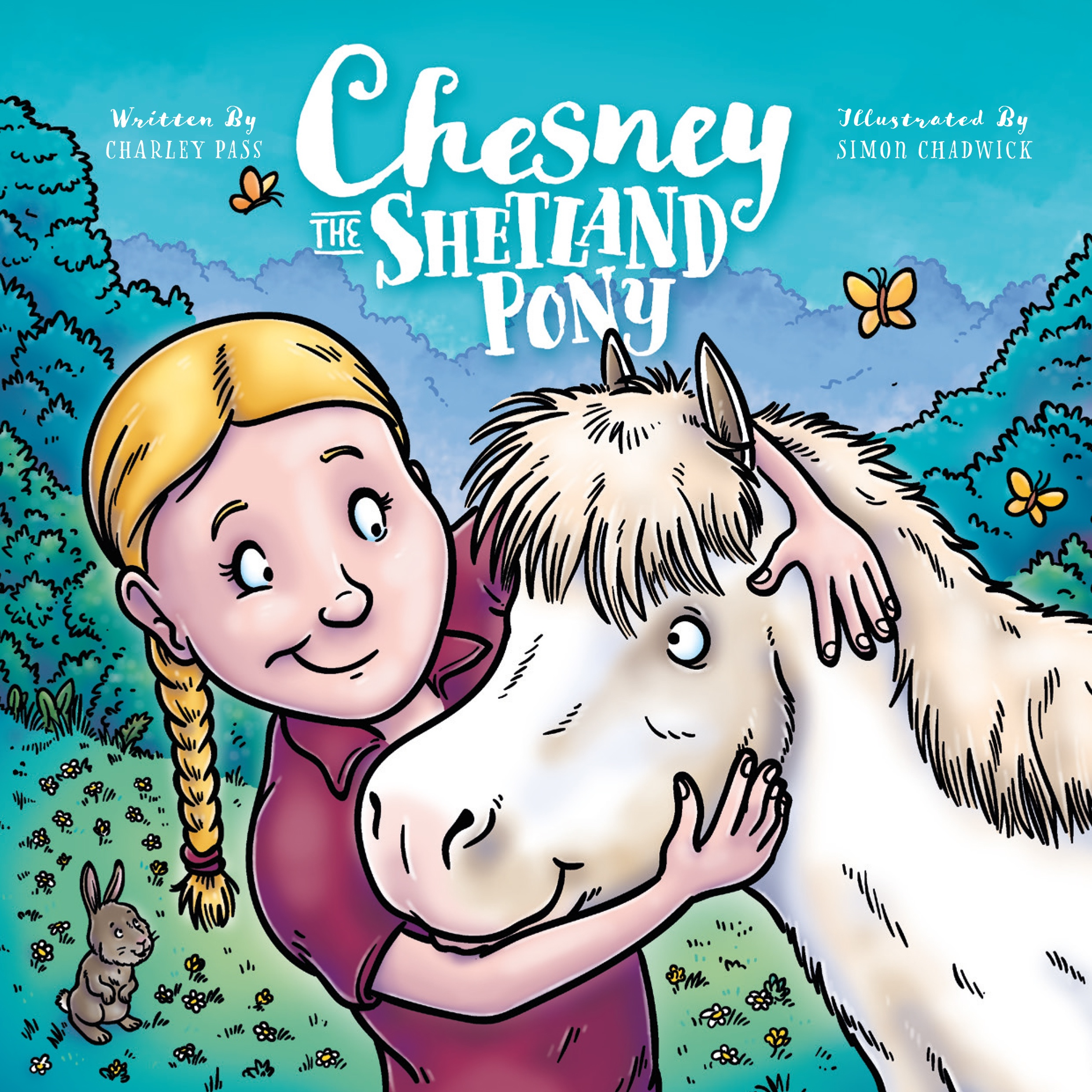 Cover for Chesney The Shetland Pony from Ceratopia Books