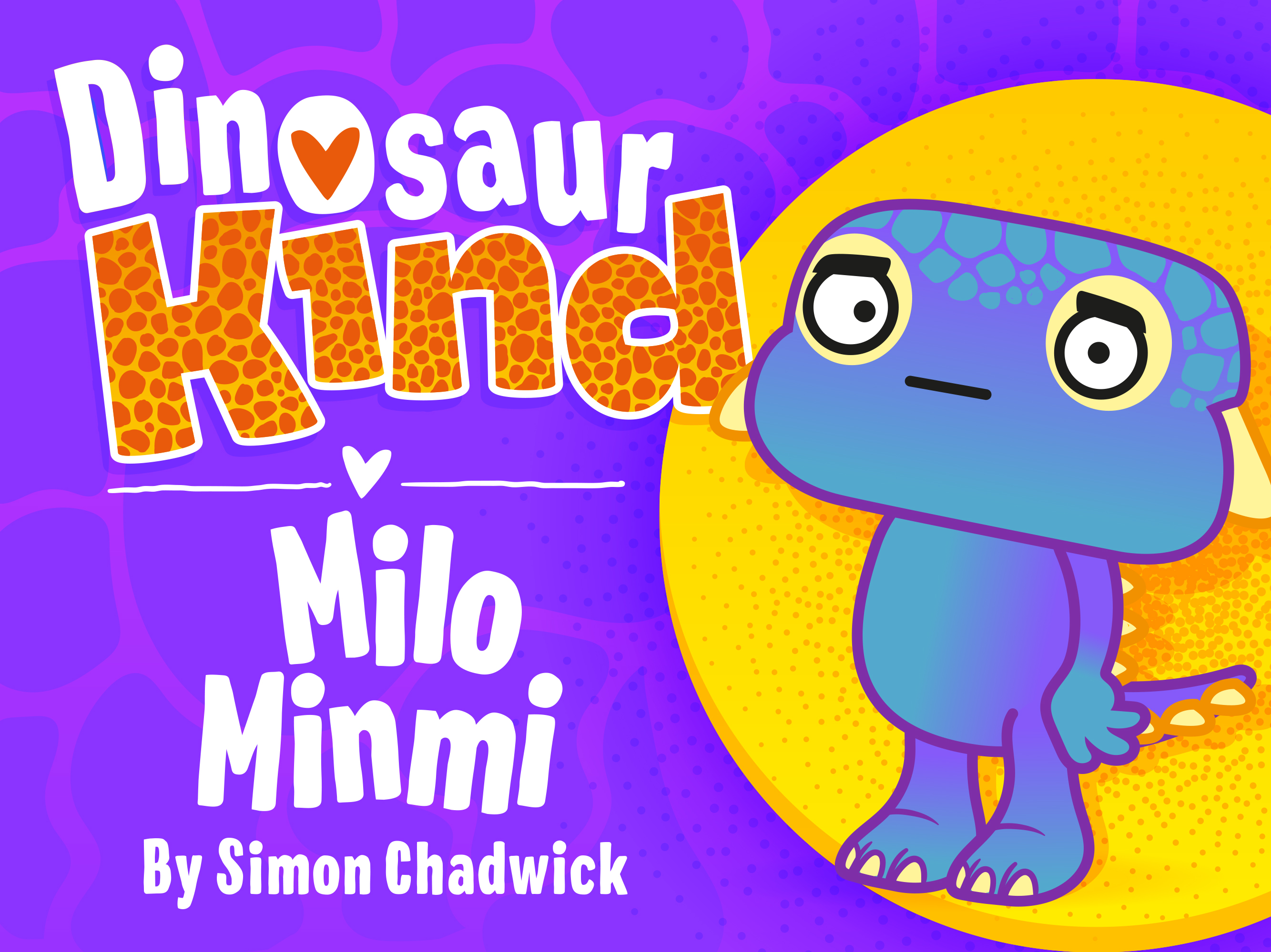 Cover to Dinosaur Kind: Milo Minmi
