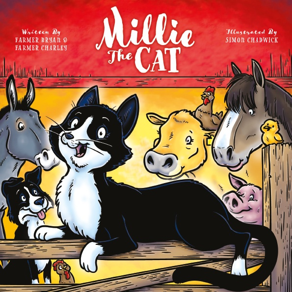 Cover for Millie The Cat from Ceratopia Books