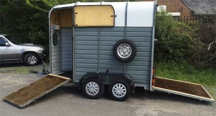 Fawley trailers also specialise in horse boxes