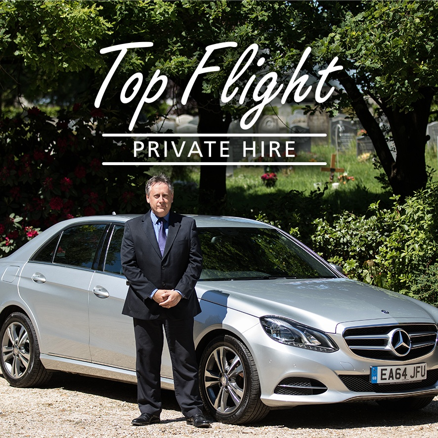 Top Flight Private Hire logo