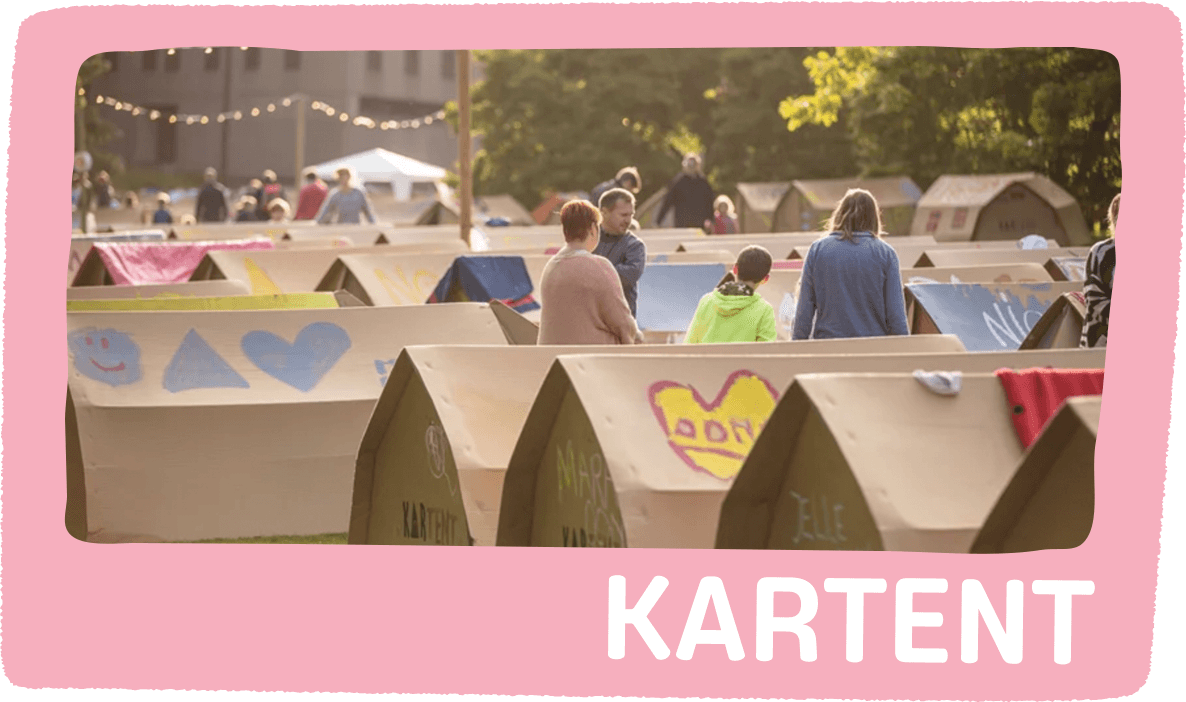 Kartent Recyclable Tents