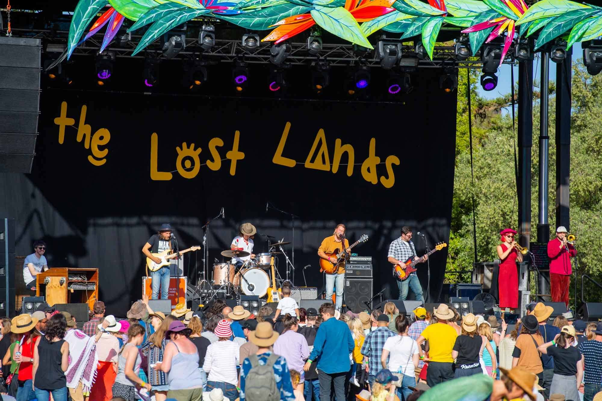 The Teskey Brothers performing at The Lost Lands 2018