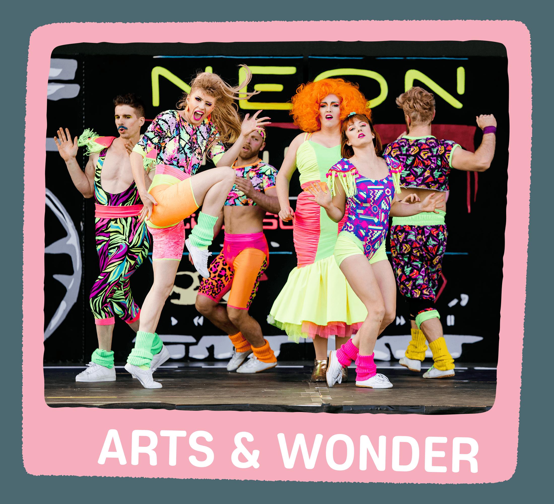 Arts & Wonder Lineup