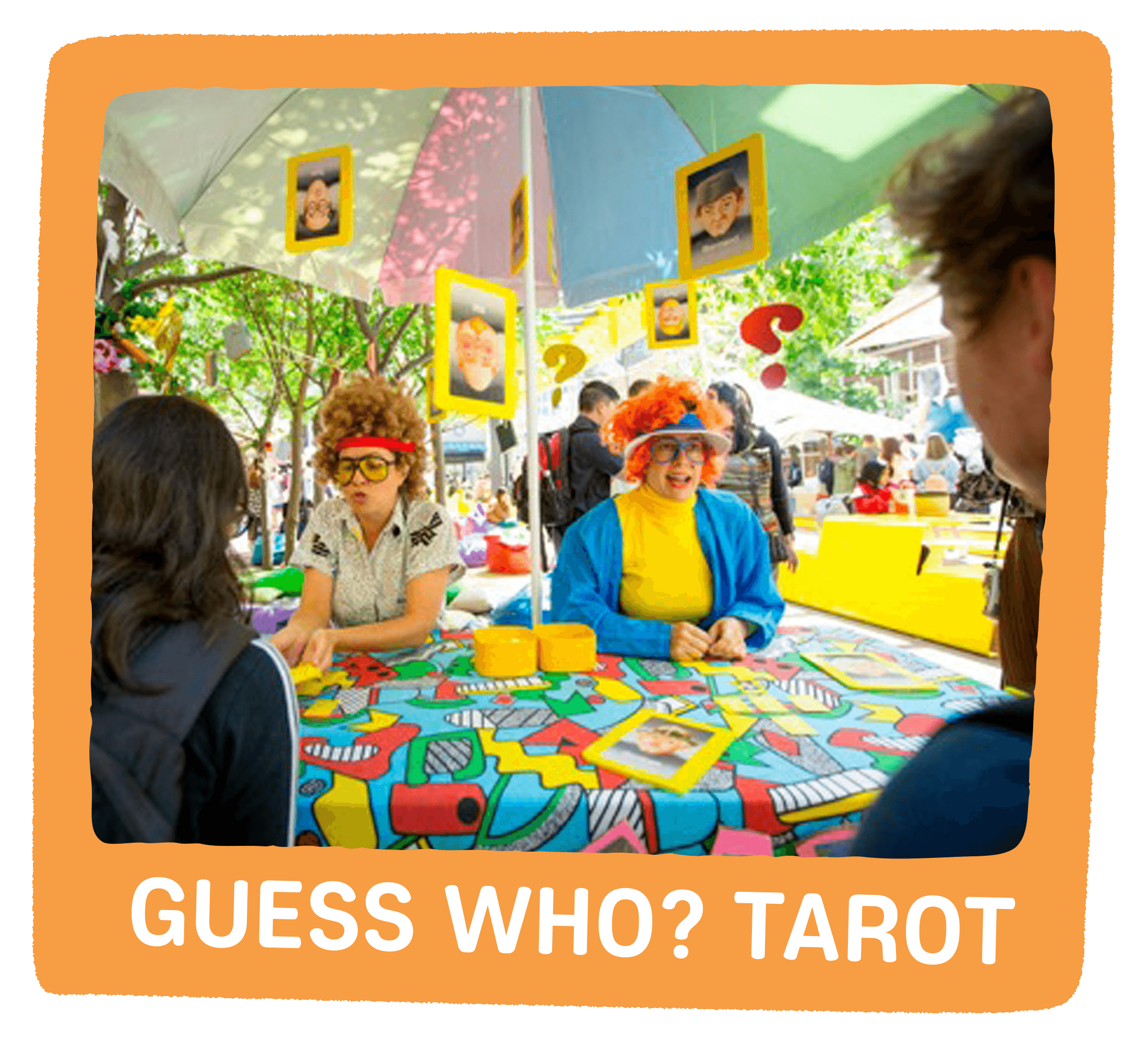 guess who tarot