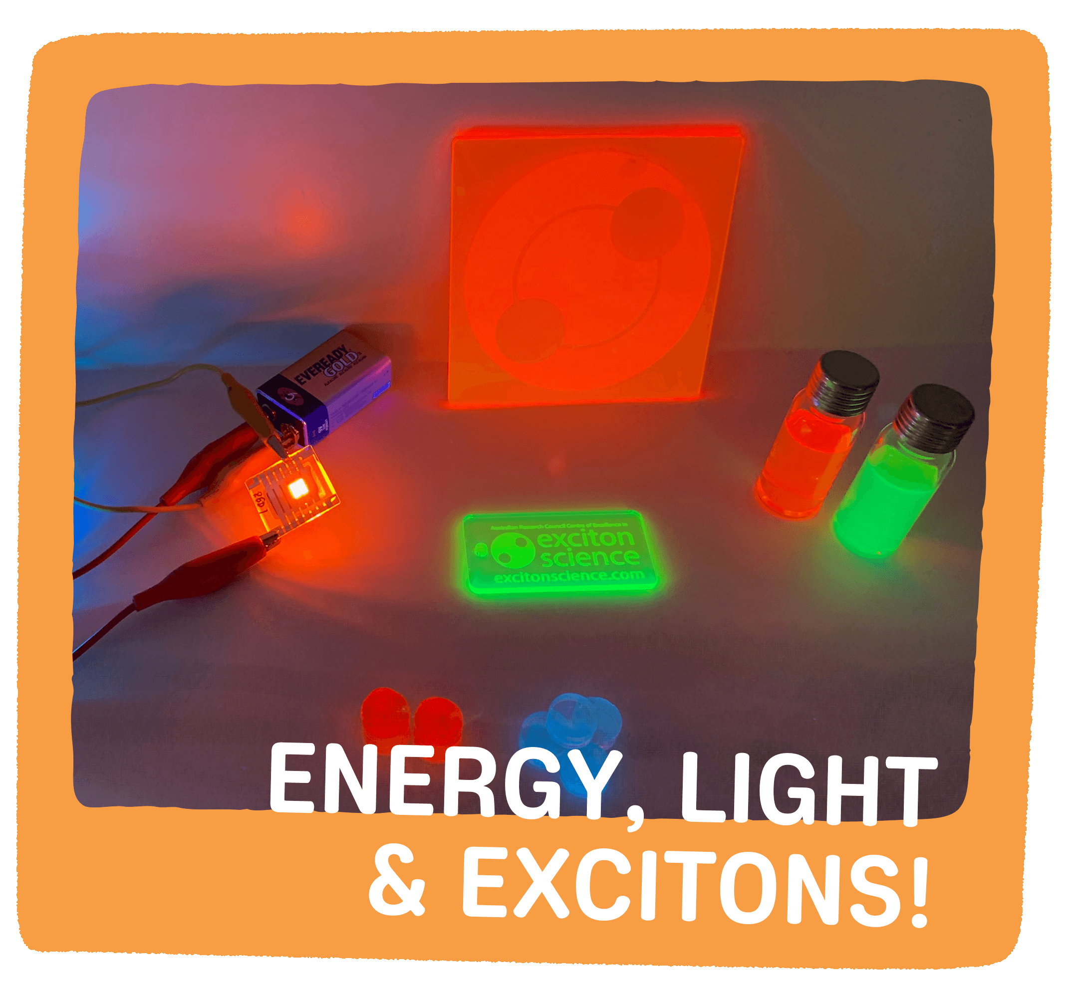 Energy, Light and Excitons!