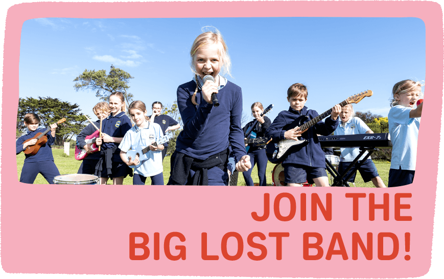 The Big Lost Band